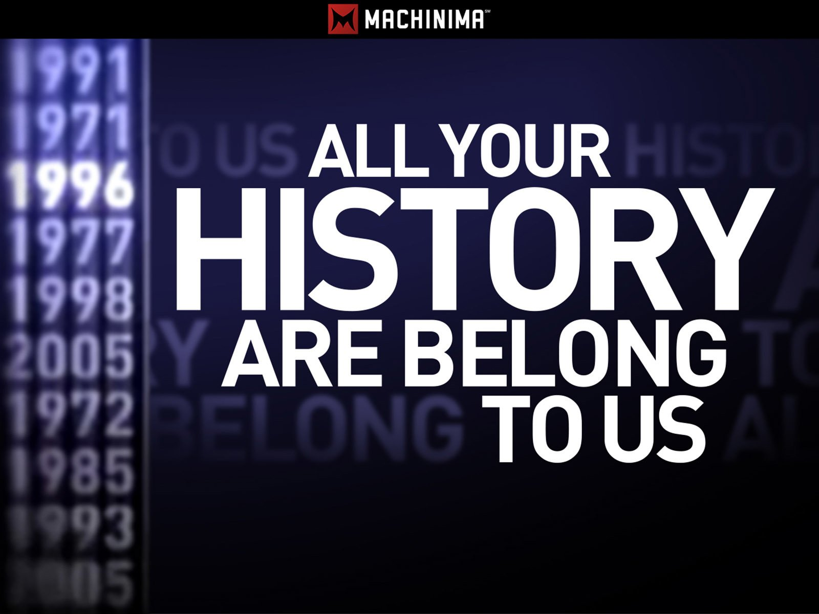 All Your History Are Belong To Us - Season 5