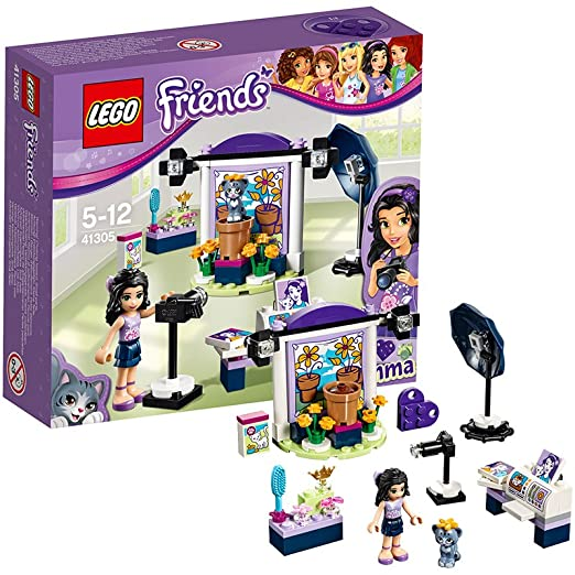 LEGO - 41305 - Friends - Jeu de construction - Le Studio Photo d'Emma