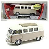 Road Signature 1:1/8 Scale 1962 VW Bus w Sliding Sunroof Diecast Car Volkswagen