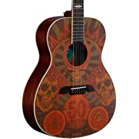 Alvarez Grateful Dead 50th Anniversary Acoustic Guitar (Montage)