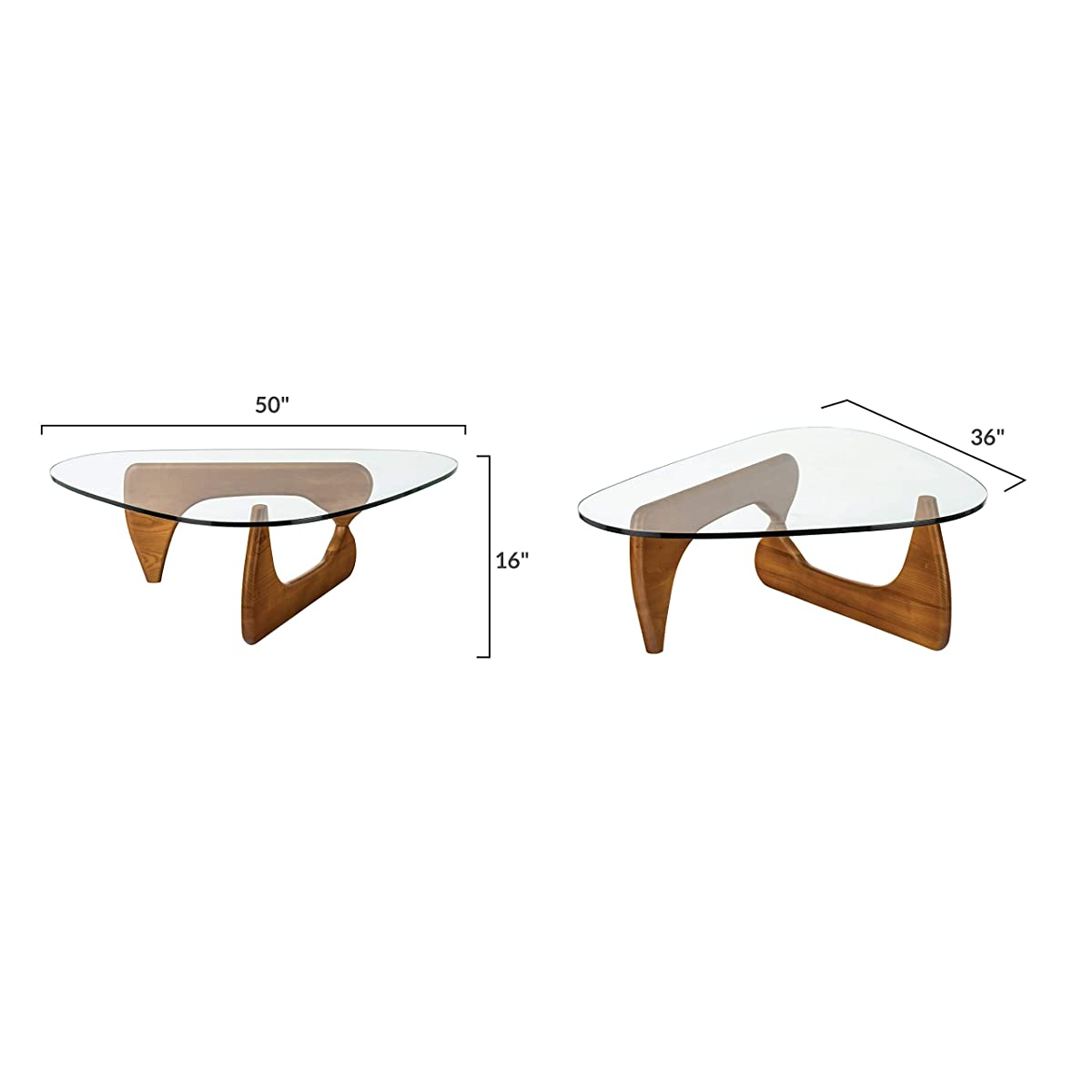 Poly and Bark Sculpture Coffee Table