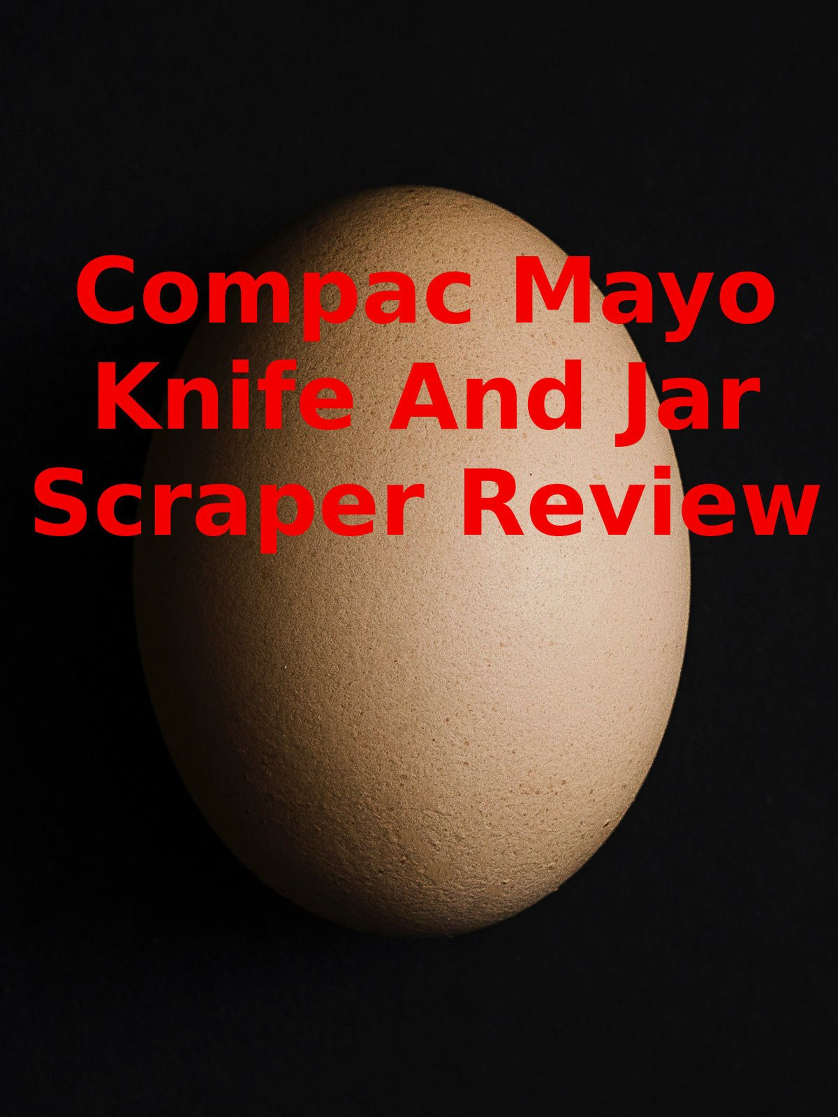 Review: Compac Mayo Knife And Jar Scraper Review on Amazon Prime Video UK