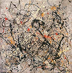 24in x 24in Number 18, 1950 by Jackson Pollock - Stretched Canvas