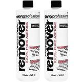 Onyx Professional 100% Acetone Remover Removes Artificial Nails, Nail Polish, Nail Glue & Glitter Polish 16 oz, 2 Pack