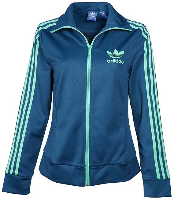 Adidas Originals Women's Europa Track Jacket-Teal