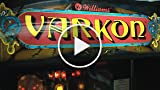 Classic Game Room - VARKON Arcade Game Pinball Machine...