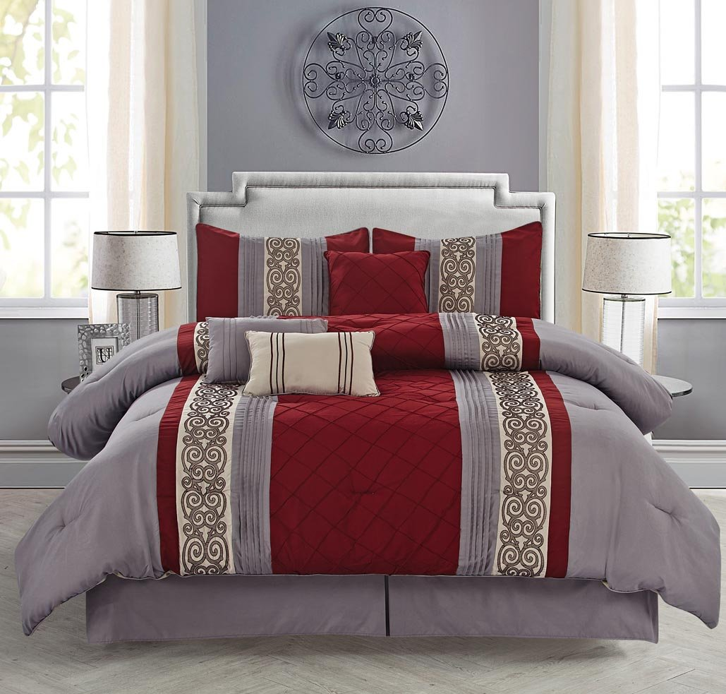 Pintuck Comforter Sets Sale – Ease Bedding with Style