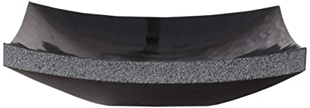 Virtu USA VST-2023-BAS Olympia Vessel Sink with Natural Shanxi Black Granite