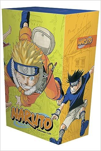 Naruto Box Set 1: Volumes 1-27 with Premium written by Masashi Kishimoto