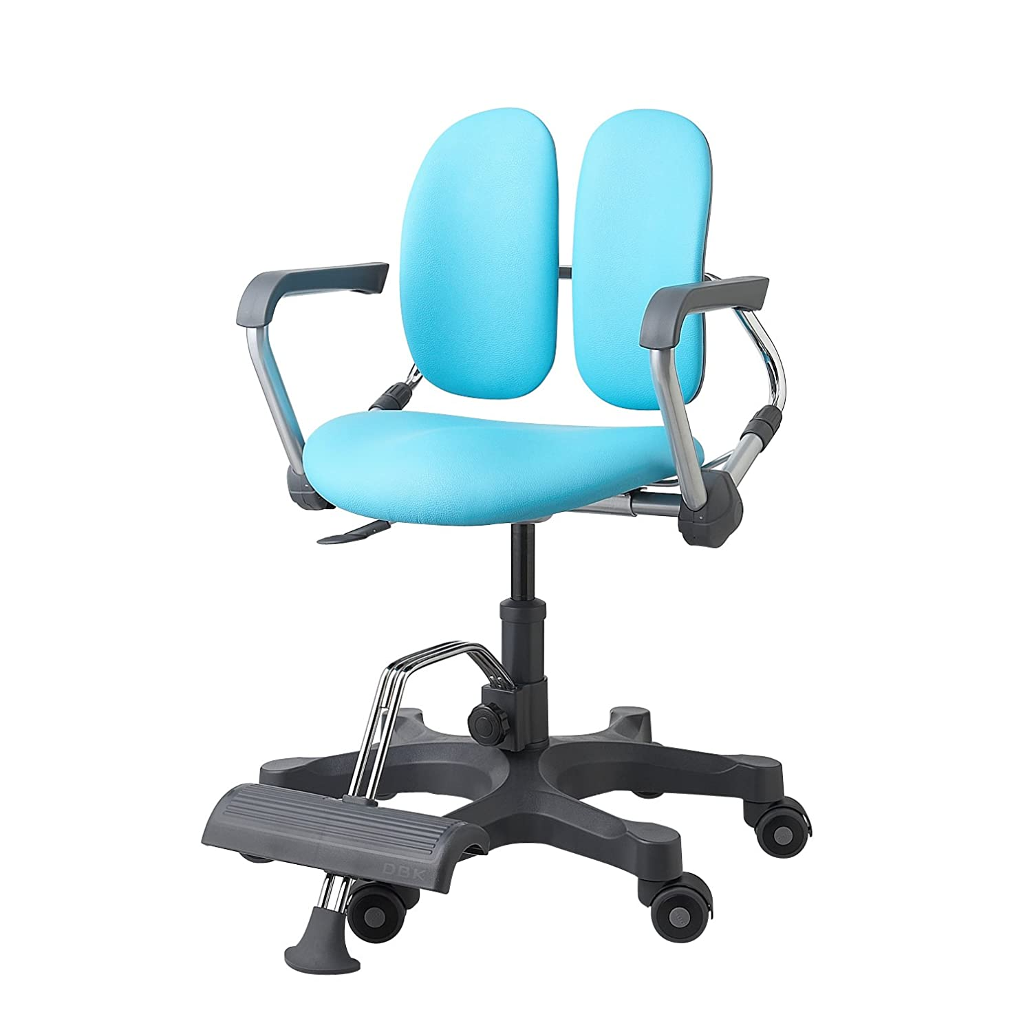 racing pin back pu desk high chair office computer leather ergonomic furmax