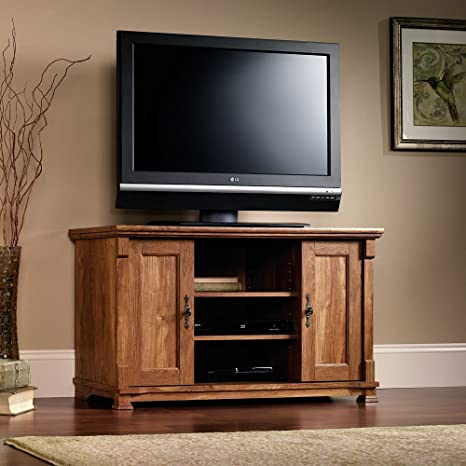 French Mills Panel TV Stand