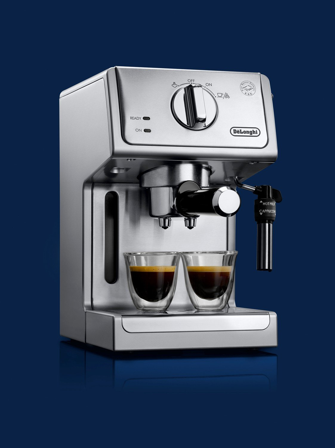 De'Longhi ECP3630 15 Bar Pump Espresso and Cappuccino Machine, Stainless Steel