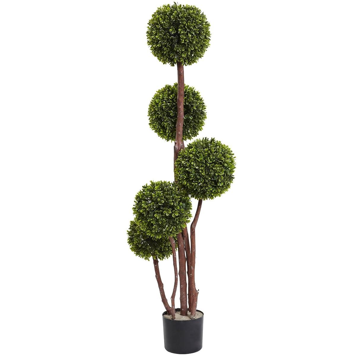 4 Boxwood Five Ball Topiary UV Resistant (Indoor/Outdoor)