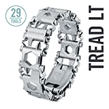 LEATHERMAN - Tread LT Bracelet, The Smaller Travel Friendly Wearable Multitool, Stainless Steel (Color: Stainless Steel)