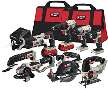 Porter-Cable 8-Tool 20-Volt Combo Kit