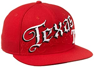 MLB Texas Rangers Cap Life 59Fifty Cap, Red, 7 3 8 by New Era