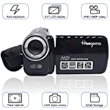 Digital Video Camcorder, Heegomn FHD 1080P 1920x1080 Video Camera 2.0