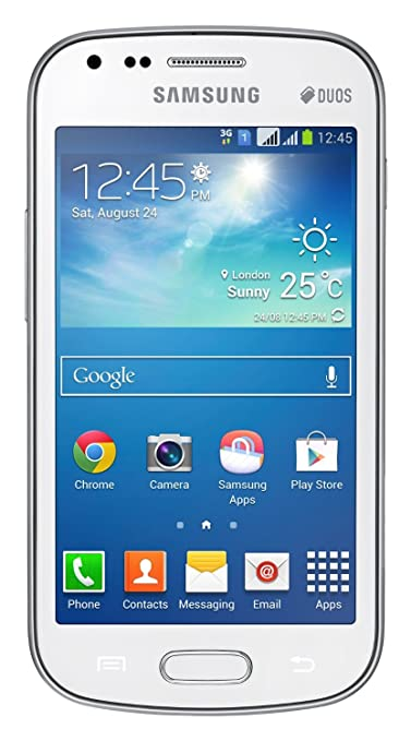 Refurbished Samsung Galaxy S Duos 2 GT S7582  Pure White  available at Amazon for Rs.5590
