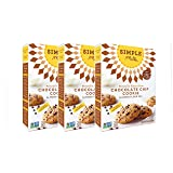 Simple Mills Almond Flour Mix, Chocolate Chip Cookie, 9.4 oz, 3 count