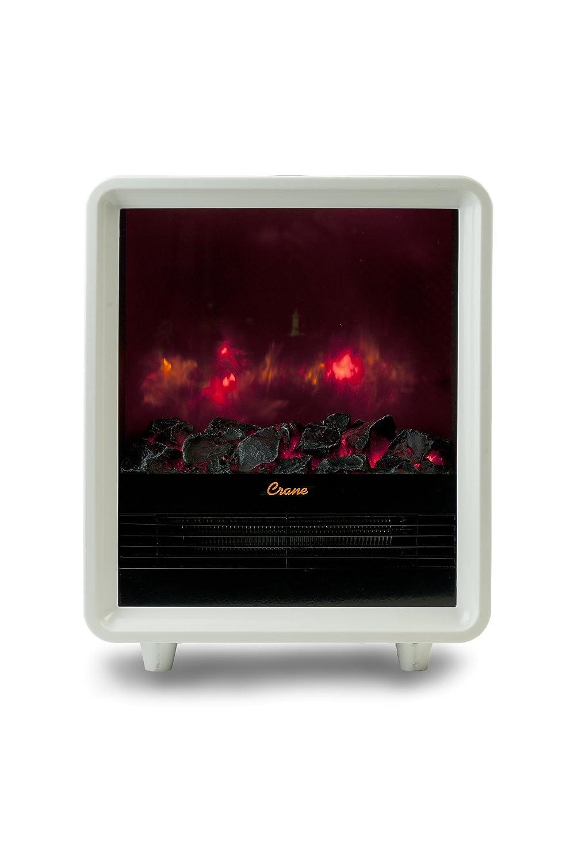 Crane Mini Fireplace Heater, White , New, Free Shipping | eBay