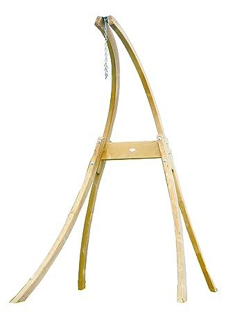 Amazonas Az-4013100Atlas à suspendre en bois Chaise avec support