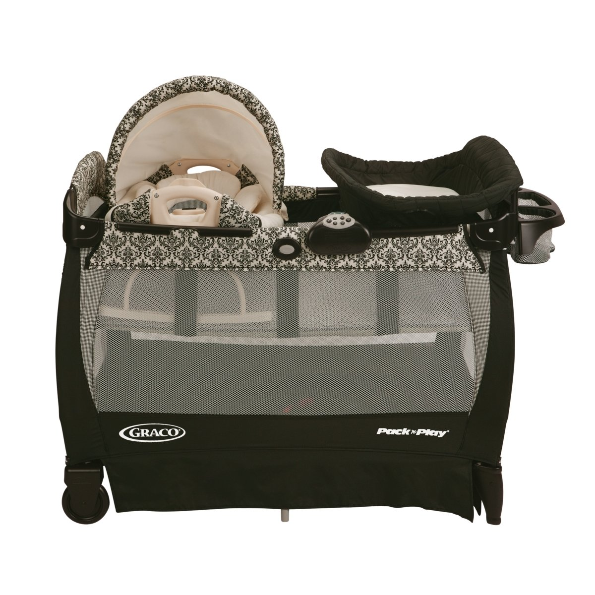 Graco Pack 'n Play Playard with Cuddle Cove Rocking Seat, Rittenhouse Review