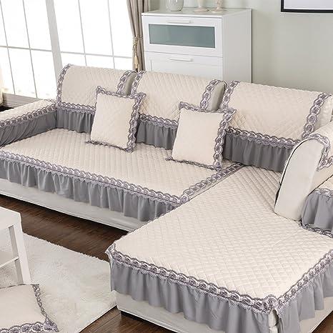 Sofa Cojín de tela antideslizante Four Seasons sofá conjuntos de sofá toalla ( Tamaño : 80*180cm )