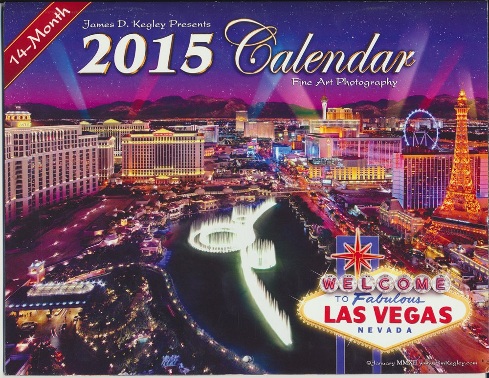 2015 Las Vegas Calendar Full Color Photos