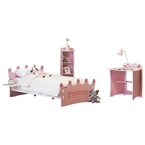 Legare Princess Bed and Bookcase Set by RST Brands