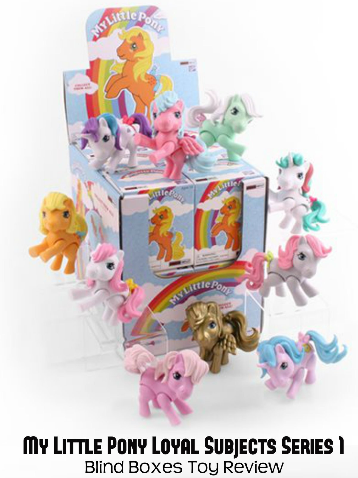 Review: My Little Pony Loyal Subjects Series 1 Blind Boxes Toy Review on Amazon Prime Video UK