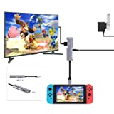 HDMI Adapter Type C Hub for Nintendo Switch,RREAKA Portable Nintendo Switch Dock Set for TV,HDMI Converter for Nintendo Switch,Samsung S8/S9 (Dex Station),2016/2017Macbook Pro(Space Grey) (Color: 5-IN-1 HDMI, Tamaño: 5-ports)