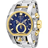 Invicta Reserve Men's 52mm Bolt Zeus Magnum Swiss Quartz Dual Movement Bracelet Watch (25205)