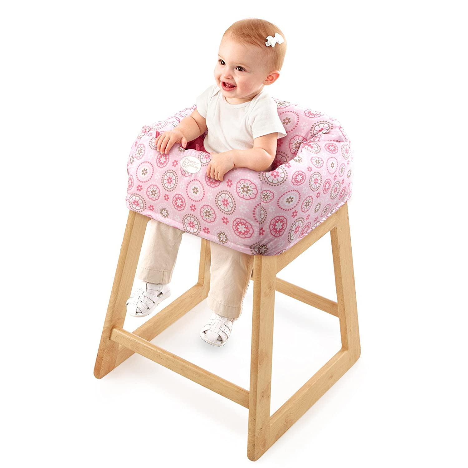 shopping cart high chair cover portable baby toddler safe storage pocket travel ebay. Black Bedroom Furniture Sets. Home Design Ideas