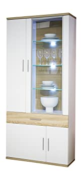 Furnline Arena Living Room Storage Cabinet, White