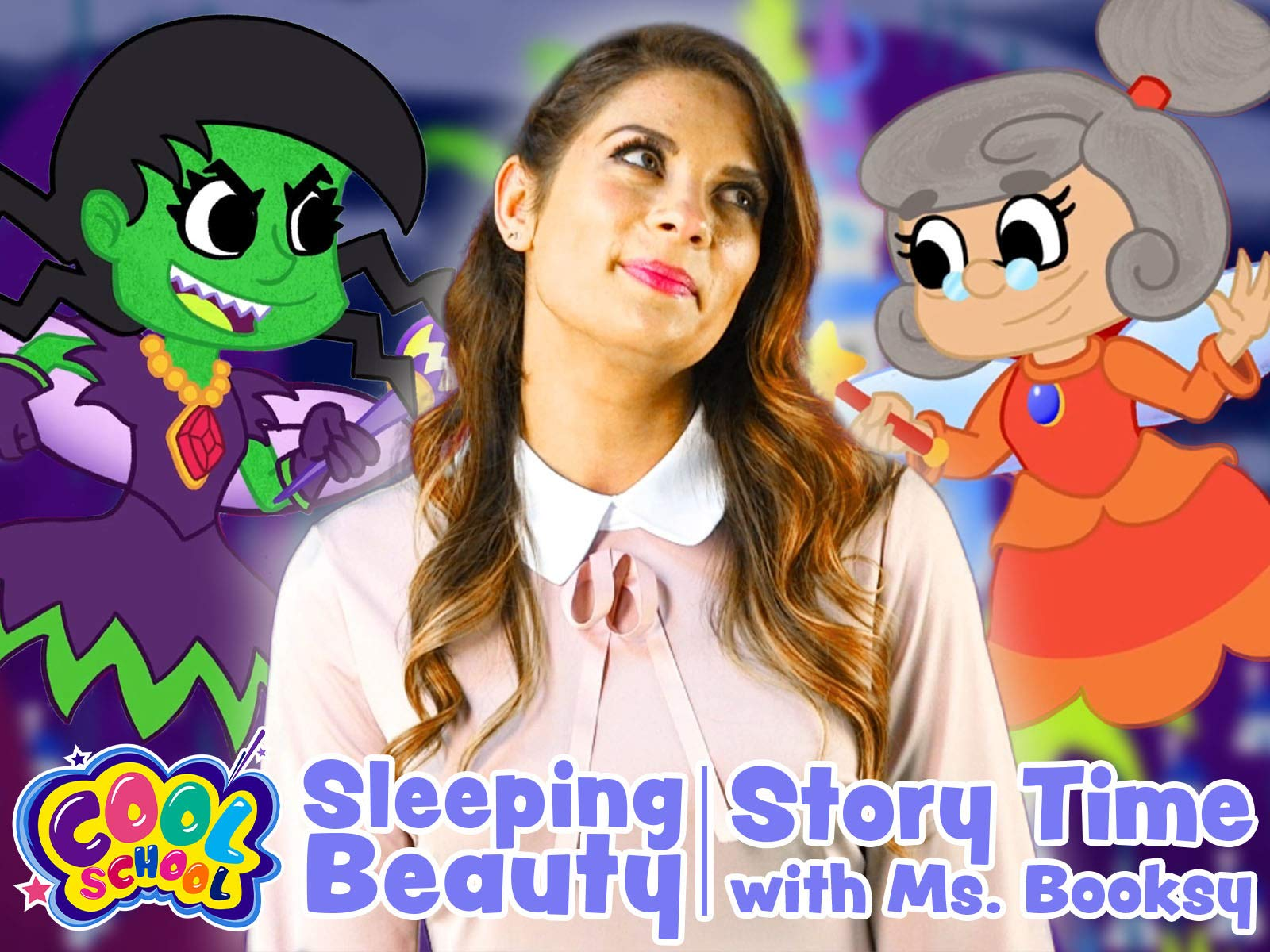 Sleeping Beauty: Story Time with Ms. Booksy - Cool School on Amazon Prime Video UK