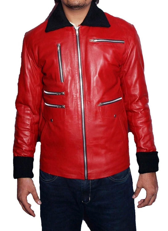 Men's Owens Sheep Red Leather Jacket kaufen