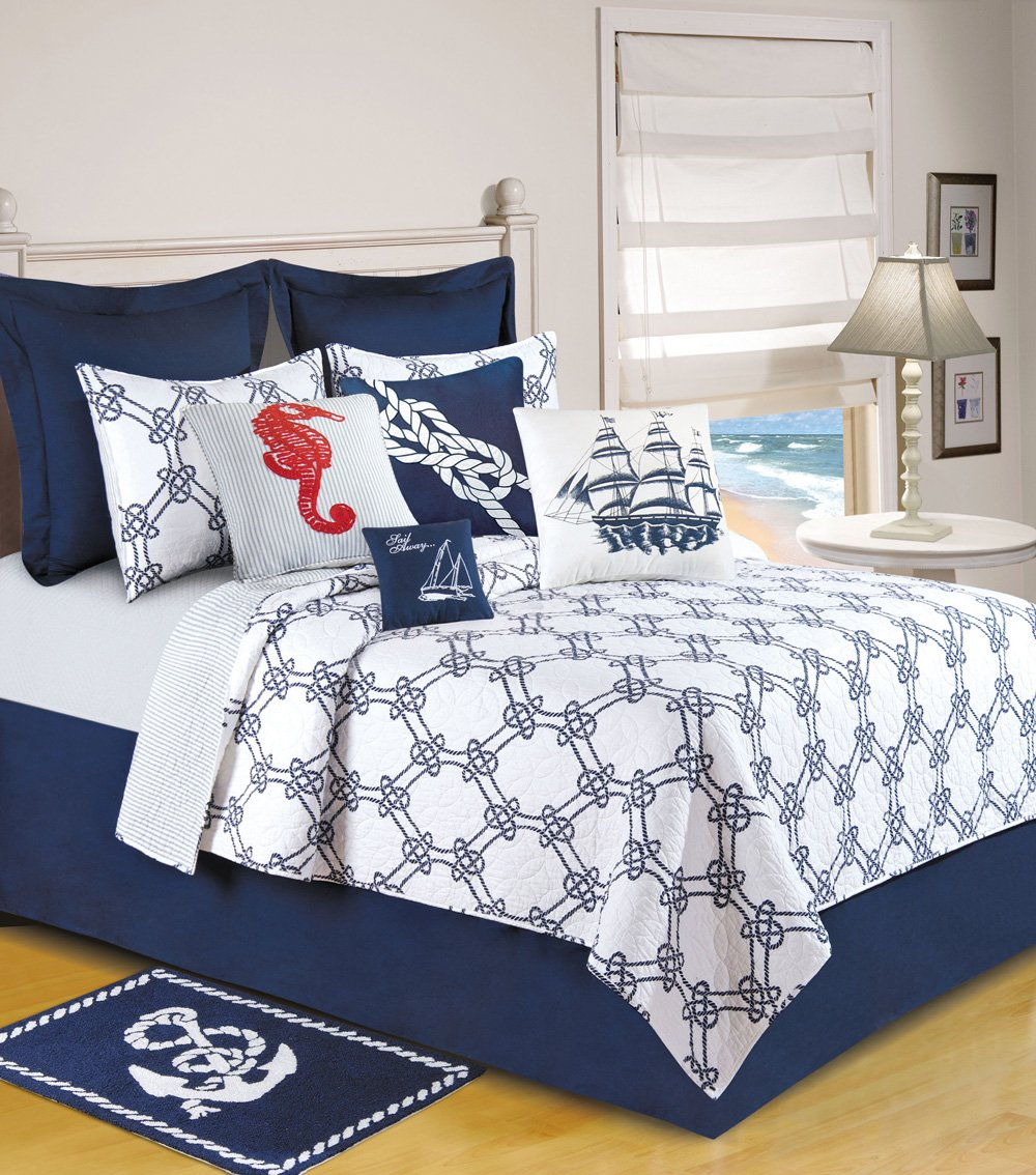 Nautical Bedding King: 60 Nautical Bedding Sets For Nautical Lovers