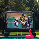 VIVOHOME 14ft Indoor and Outdoor Inflatable Blow up Mega Movie Projection Screen (Tamaño: 14ft)