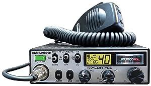 President Taylor FCC 12/24V CB Radio