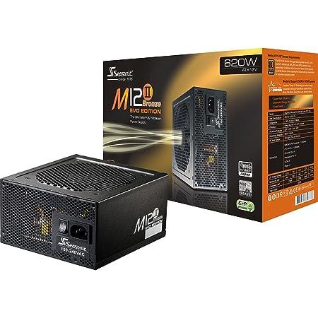 Seasonic MI2 II 620W EVO 80 Plus Bronze Alimentation pour PC ATX 620 W Modulaire