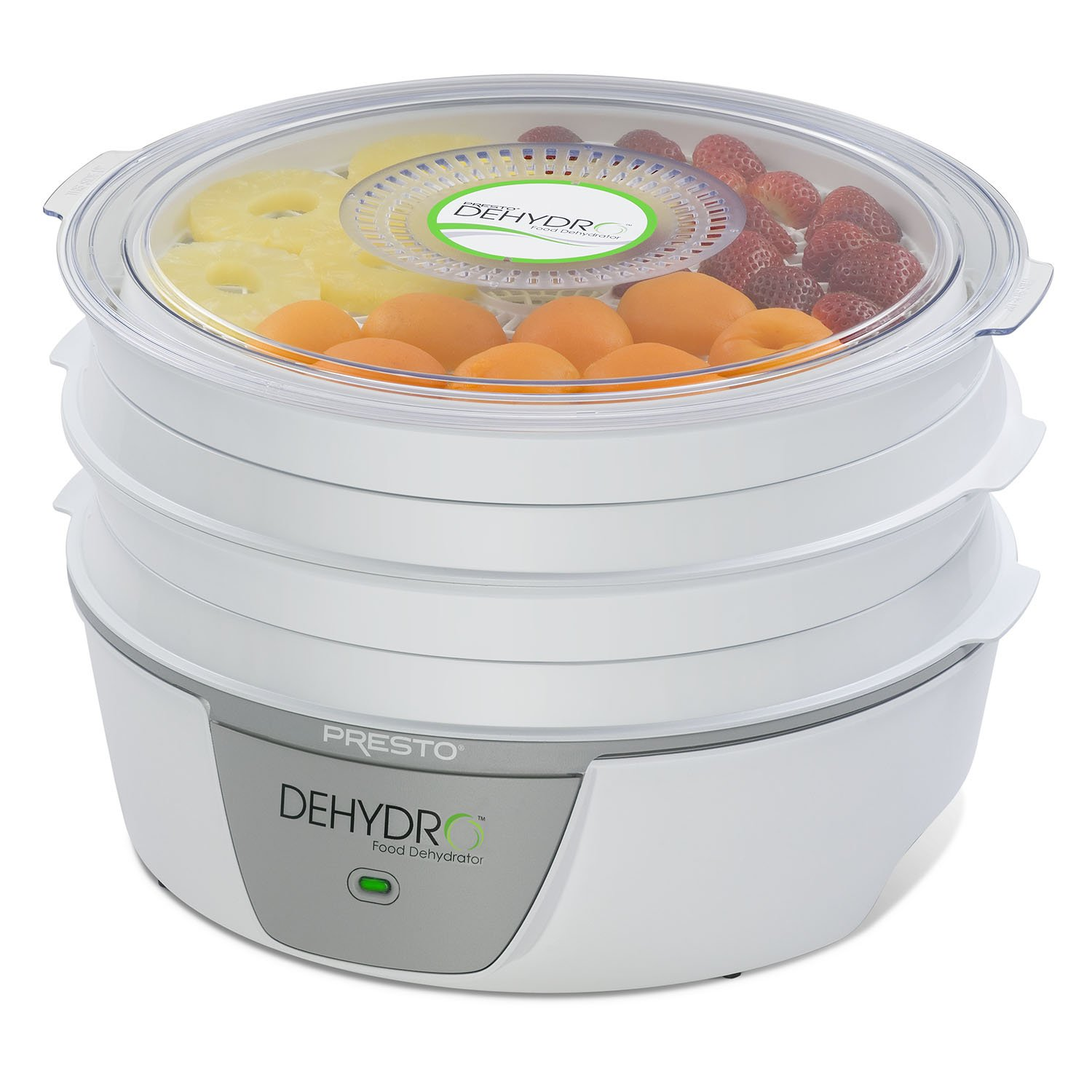 If you are not sure how to dehydrate food, we would highly recommend buying the Presto 06300.