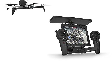 Parrot Bebop 2 Drone avec Skycontroller pour Smartphone/Tablette Blanc/Noir