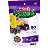 Jobe's Organics Container & Bedding Plant Fertilizer Spikes, 50 Spikes (Color: V, Tamaño: 50 Spikes)