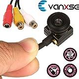 Vanxse Cctv Mini Spy Pinhole Security Camera Sony CCD Hd 1.8mm 120degree 1000tvl Hidden Mini Cctv Surveillance Camera