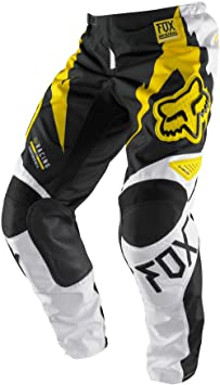 Pantalon Fox race giant 2013 Jaune 30 US