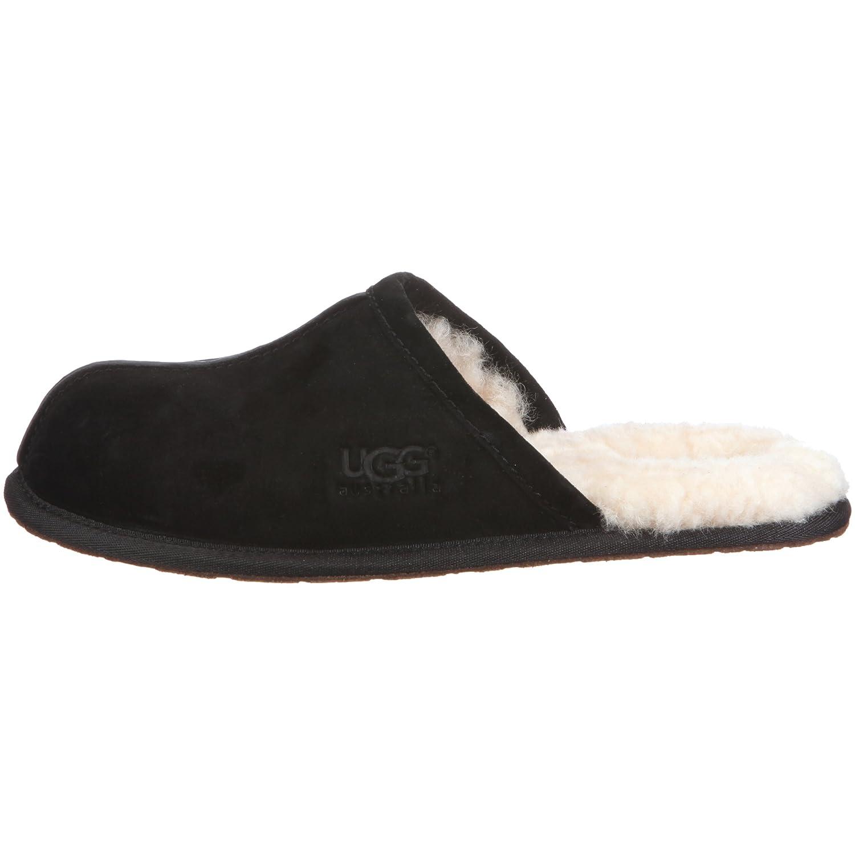 UGG Scuff Slippers Men Black