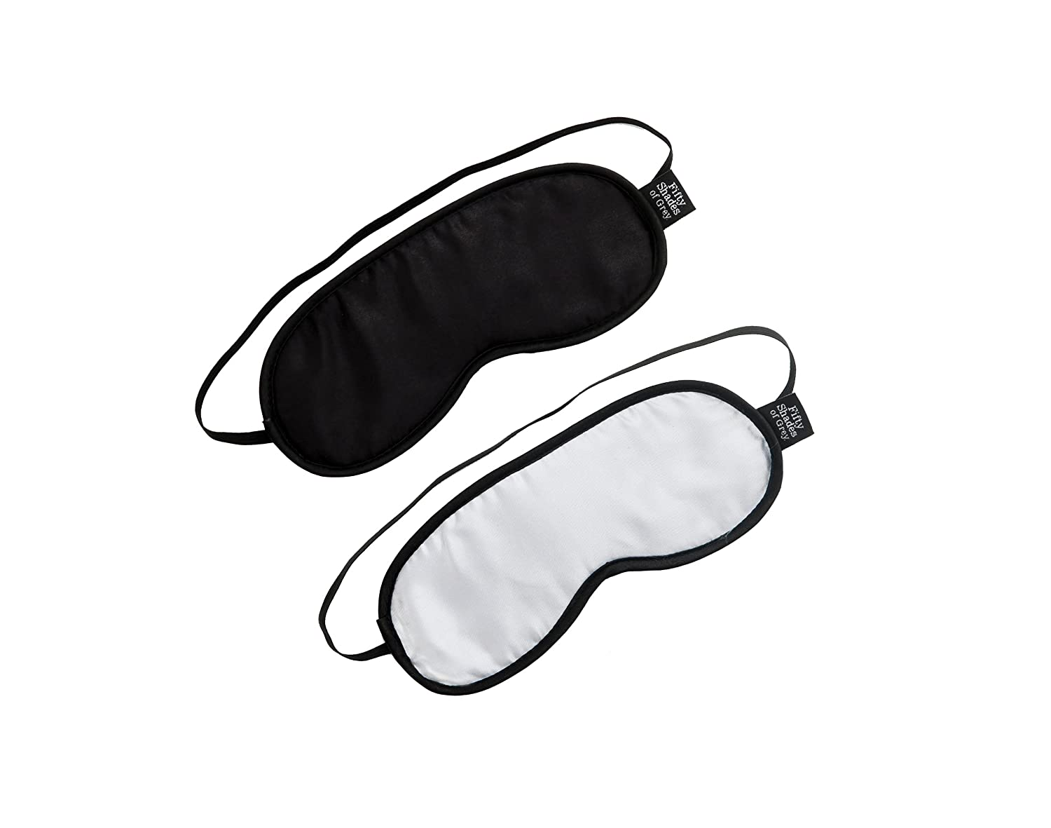 Fifty Shades Of Grey No Peeking Blindfold Twin Pack мини вибратор svakom daisy розовый
