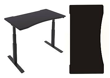 PC Gamers Sit–Support de bureau ergonomique Gaming Bureau avec 1600mm