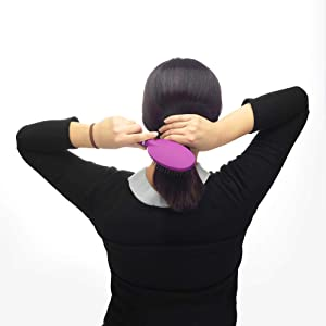 Revlon Detangle & Smooth Berry Cushion Hair Brush