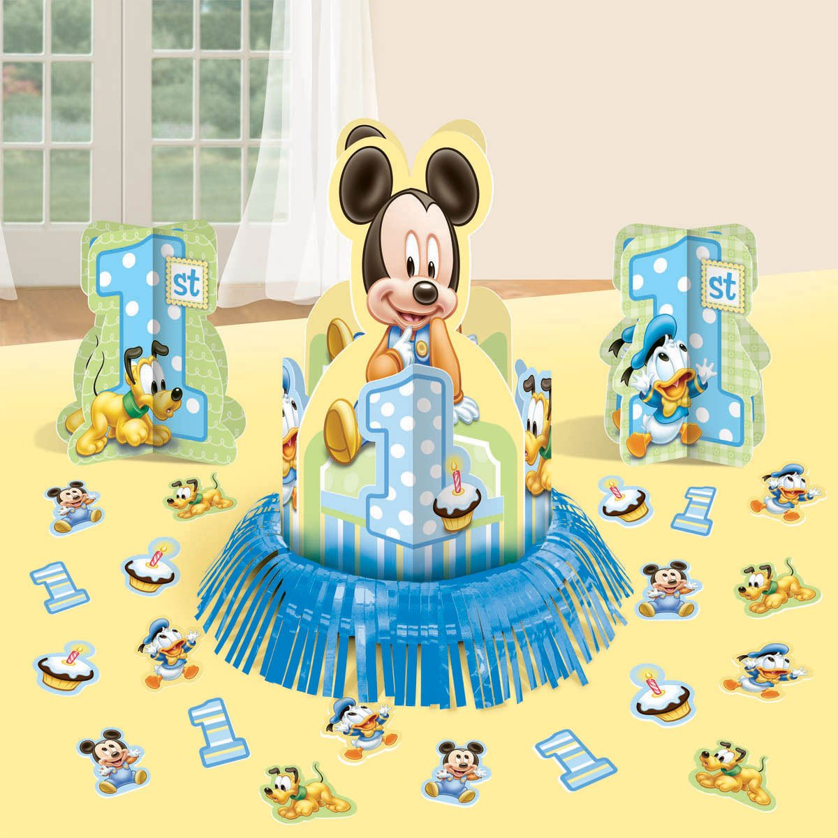 Mickey Mouse Boys First Birthday Party Supplies Birthday Wikii